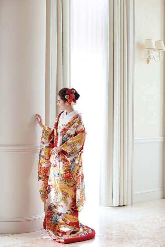 【銀座三越グランジュール】和装 洋装 結婚式の御衣裳